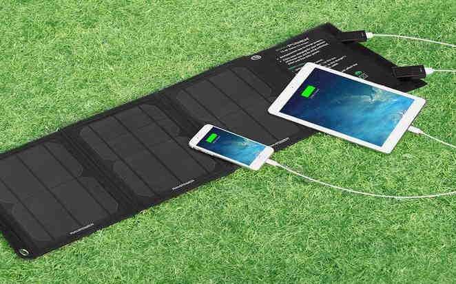 Carica Batteria Con Pannello Solare : Caricabatterie solare