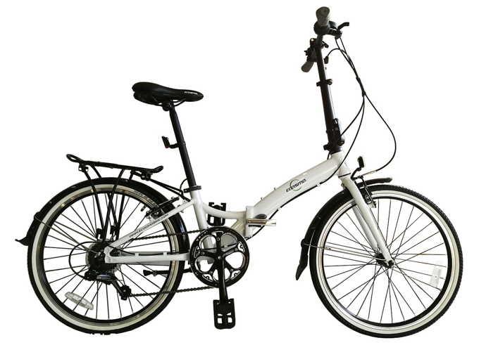 "ecosmo folding bike 24"""