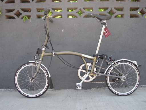bici pieghevole come chiuderla