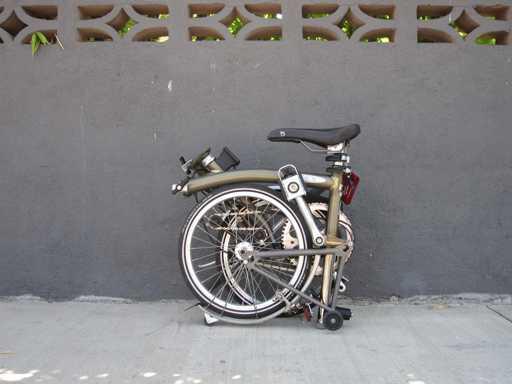 bici pieghevole come chiuderla 4