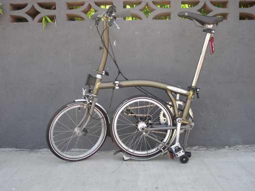 bici pieghevole come chiuderla 2